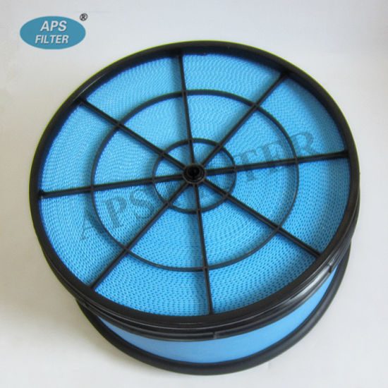 Long Use Life Paper Heavy Duty Truck Air Filter (208-9065 SEV551H/4)