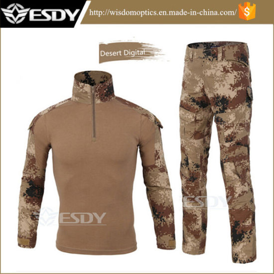 Work Wear & Uniforms Enthusiastic Tactical Military Uniform Clothing Army Of The Military Combat Uniform T-shirt And Tactical Pants With Knee Pads Hunting Clothes