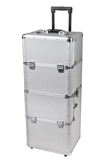 Aluminum Material and Case Type Professional Makeup Trolley CAS
