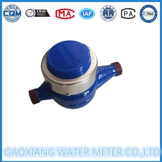 Multi Jet Vane Wheel Dry Water Meter in China Factory