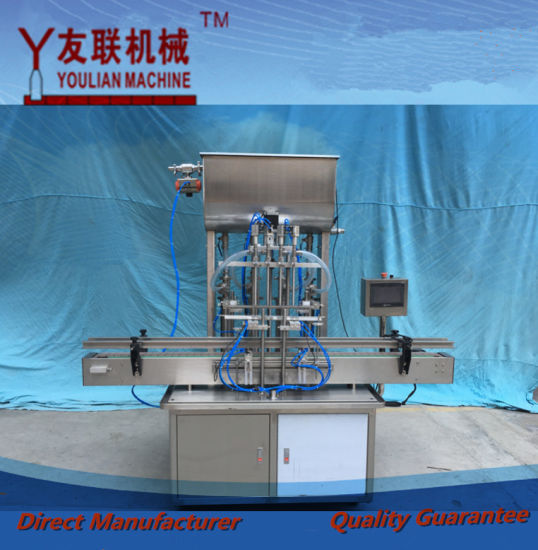Gt4t-4G Automatic Liquid Filling Machine with Hopper