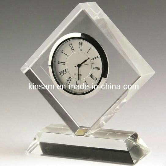 K9 Crystal Desk Clock Cheap Watch Clock pictures & photos