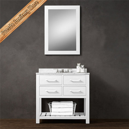 Fed-1992A Modern Solid Wood Bathroom Vanity Bathroom Cabibet pictures & photos