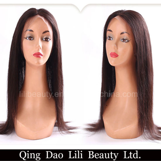 Cheap Straight Natural Hairline 360 Frontal Closure Virgin Hair pictures & photos