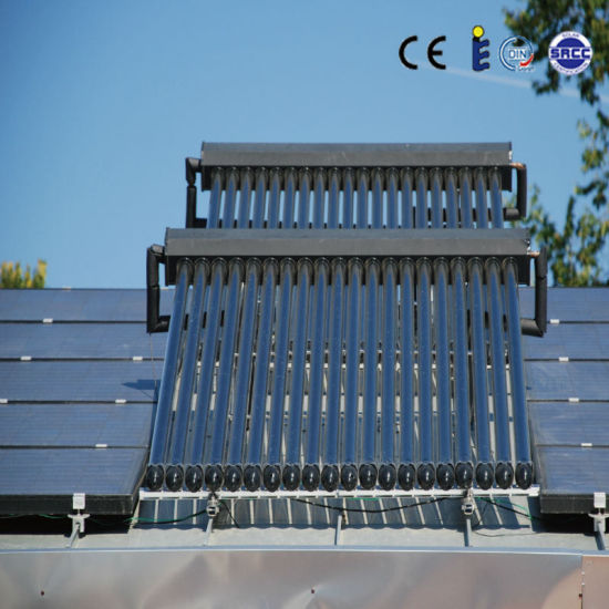 Parabolic Trough Solar Collector Water Heater: China Mature Technology Vacuum Tube Parabolic Trough Solar