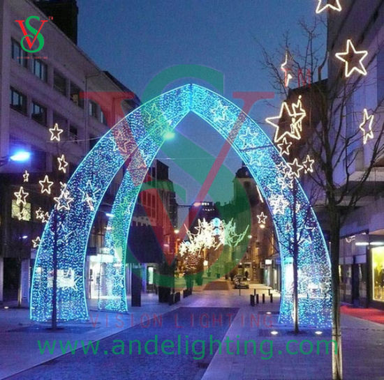 new motif light arch light led christmas light