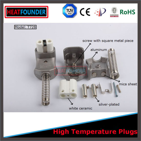 Power Source Type Industrial Connectors with Ceramic Plug Head pictures & photos