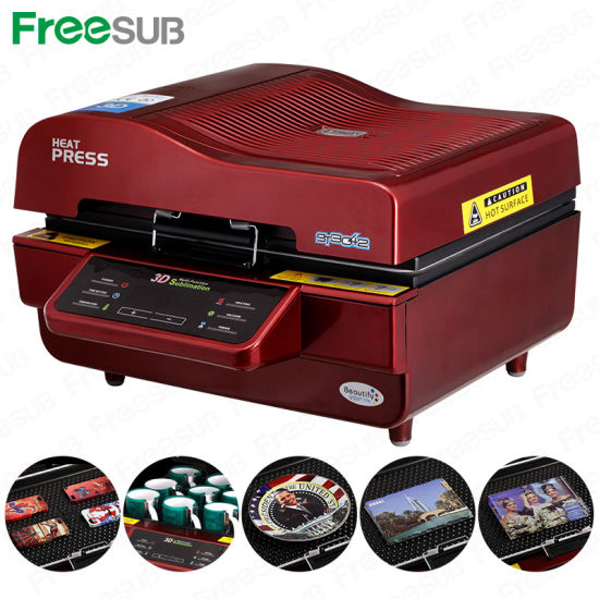 3D Sublimation Mug Heat Press Transfer Printing Machine for Sales (ST-3042)