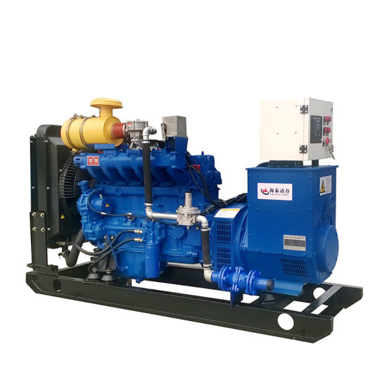 China Wood Ship Gas Power Plant Gas Generator Set with CHP
