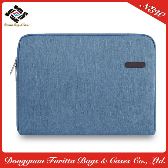 Classic Design Popular Blue Color Handbags Sleeve Laptop Bag (FRT3-309)