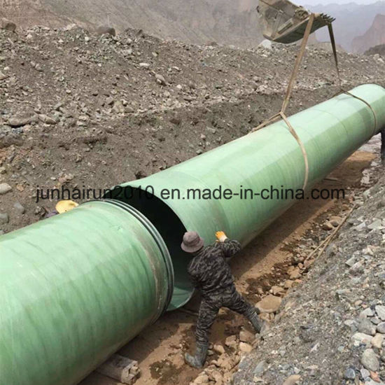 Anti Corrosive Pipe Anti Acid Pipe Anti Alka Pipe Anti Salt Pipe FRP GRP Material Pipe pictures & photos