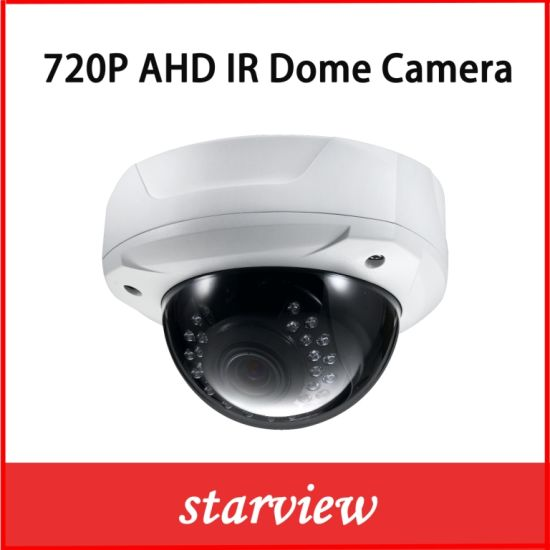 "1/2.8"" Sony CMOS 720p Ahd IR Dome CCTV Camera pictures & photos"