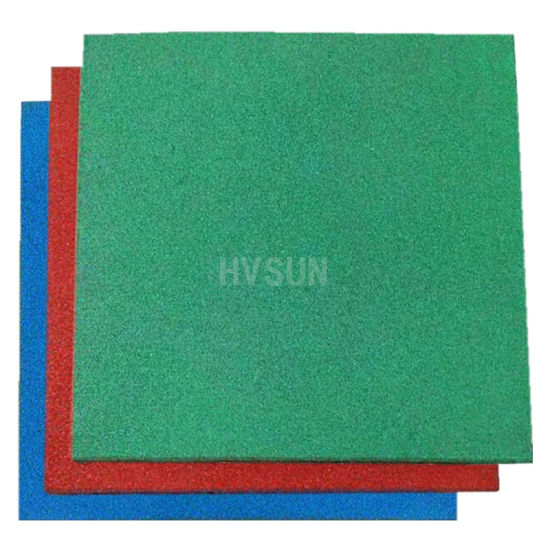 50mm Recycle Thick Rubber Flooring Mats for Children Playground