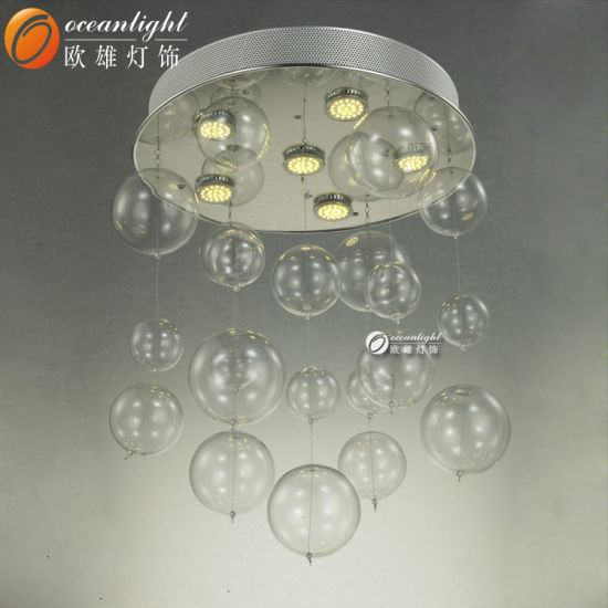 China chrome electroplated smooth glass ball glass bubble chrome electroplated smooth glass ball glass bubble chandelier om033 mozeypictures Image collections
