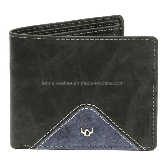 Special Man Handmade Good Quality Fashion Leather Wallet (EU4188) pictures & photos