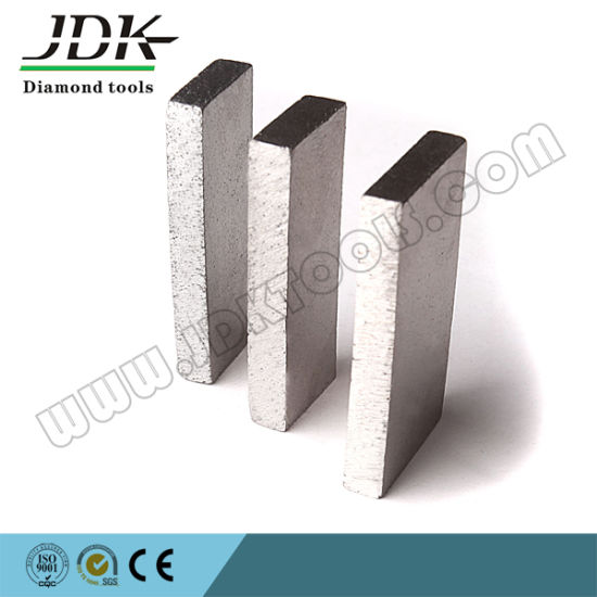 Jdk Diamond Segment for Sandstone Cutting pictures & photos
