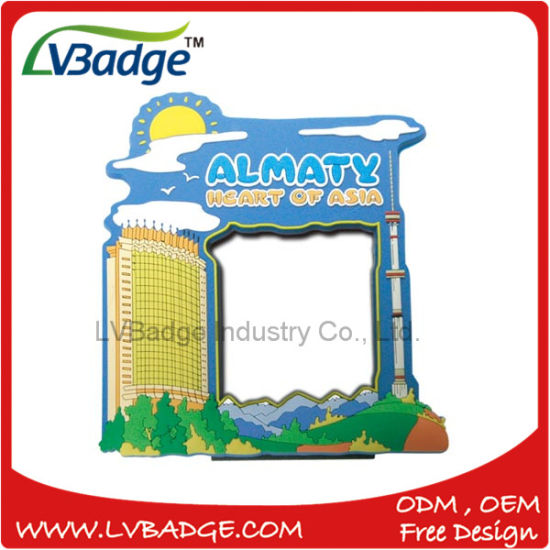 High Quality PVC Promotional Plastic Photo Frame pictures & photos