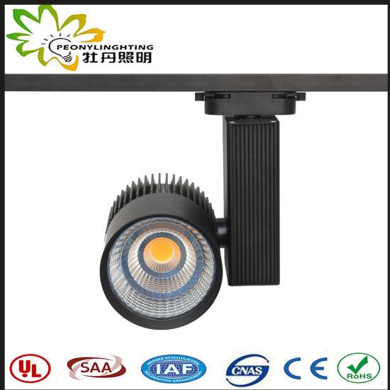 High Quality AC100-265V Top Sale LED 45W Track Spot Lights 6500K