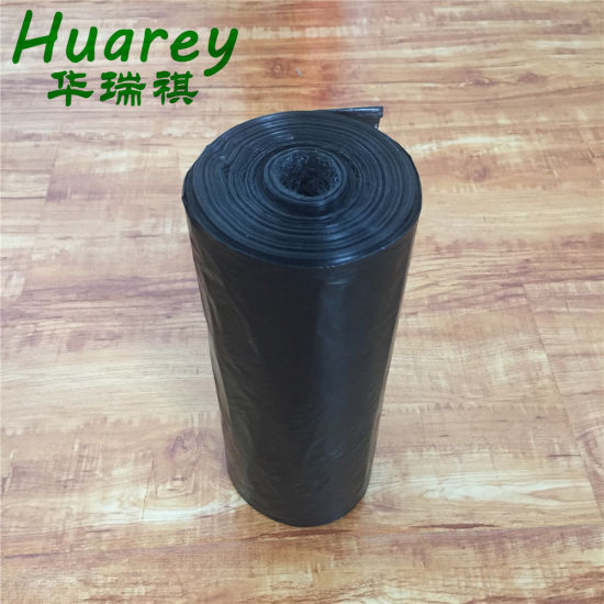 Colored Plastic Degradable Disposable Garbage Custom Trash Rubbish Bags