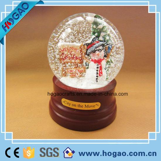 Xmas Holiday Christmas Snow Globe