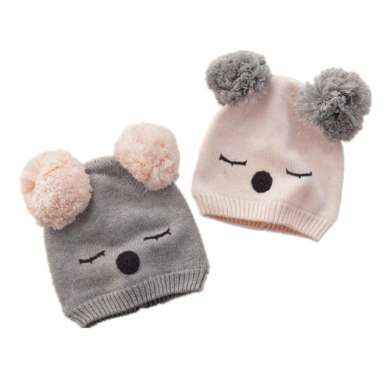 6b939442d04 Knit Kids Hats Custom Animal Ears Design Fancy Cute Hats for Little Girls