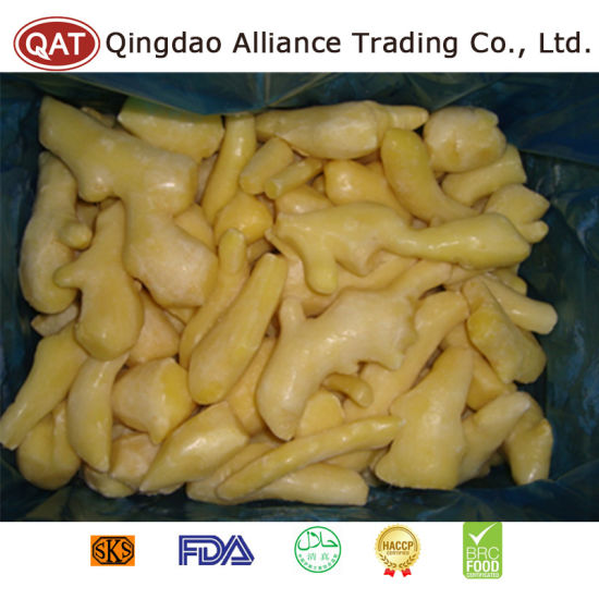 Top Quality Frozen Peeled Ginger with Good Price pictures & photos