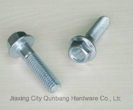 Flange Bolts (Carbon Steel Full-Size Body DIN6921) pictures & photos