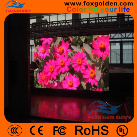 Indoor High Energy-Conversion P4 LED Screen pictures & photos