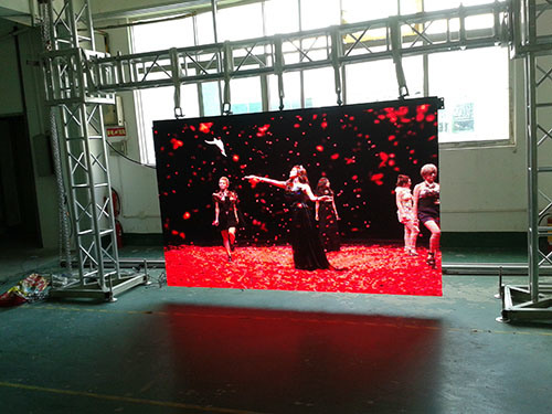 500X500mm P3.91 P4.81 LED TV Screen Stage Background Indoor HD LED Video Display