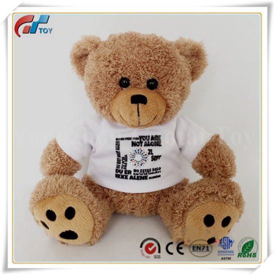 Your Logo Branded T-Shirt Teddy Bear Promotion