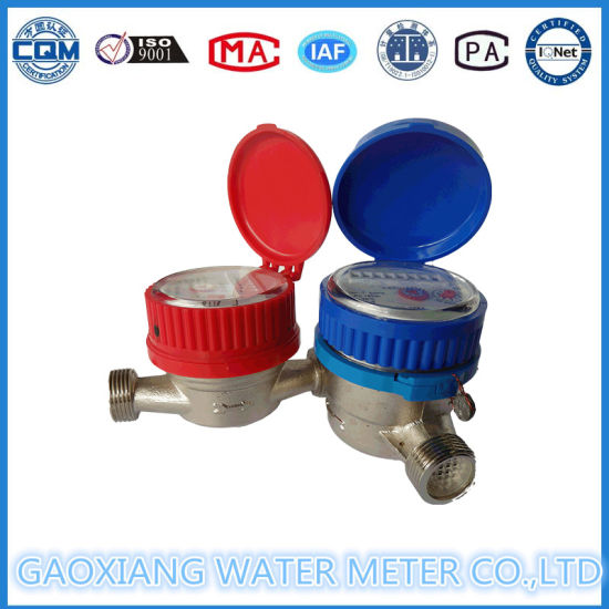 High Accuracy Single Jet Domestic Water Meter (DN15-DN32) pictures & photos