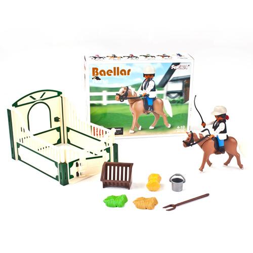 Plastic DIY Toy Building Block Intelligent Toy (H0318244)