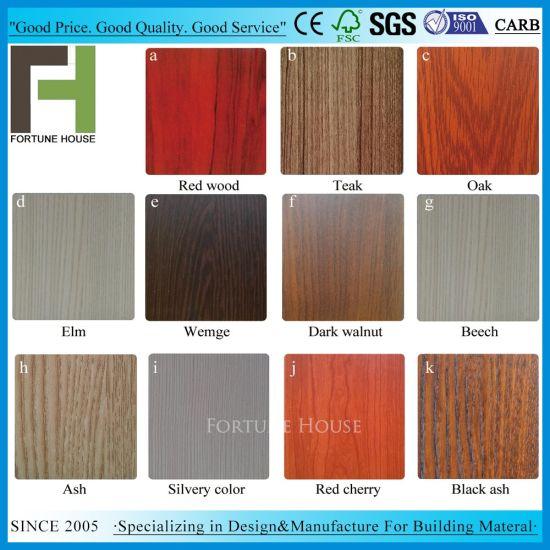 Melamine PVC Door Skin For Kitchen Cabinet Door