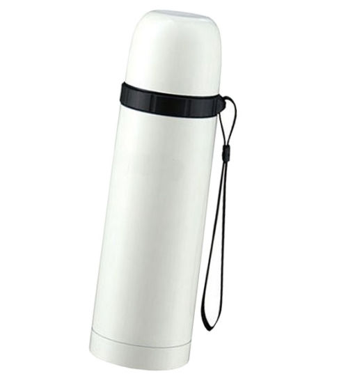 Bullet Shape Dual Wall Stainless Steel Vacuum Flask pictures & photos