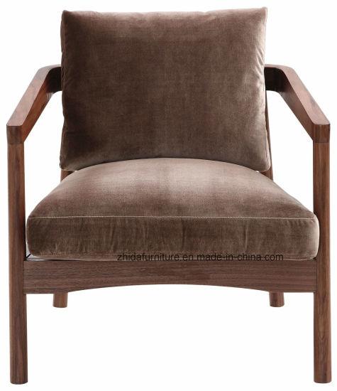 Surprising China Contemporary Walnut Wooden Frame Fabric Chair China Creativecarmelina Interior Chair Design Creativecarmelinacom