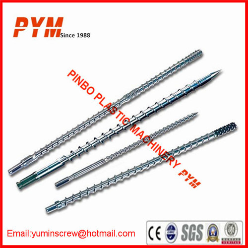 Bimetallic Extruder Single Screw Barrel for Extrusion Line pictures & photos