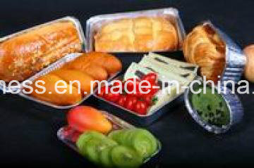 Airline Aluminium Foil Disposable Container for Food pictures & photos