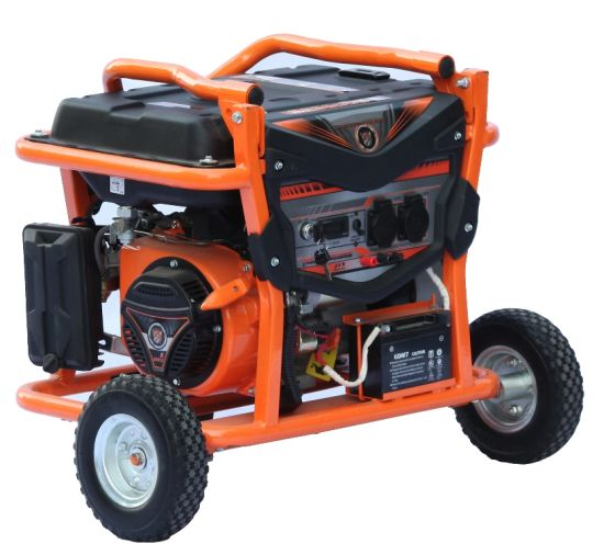 5kw/5kVA Electric Power 220/380V Electric Gasoline Generator FM6500e pictures & photos