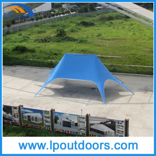 12X17m Outdoor Double Peak Canopy Twin Star Shade Star Tent pictures & photos