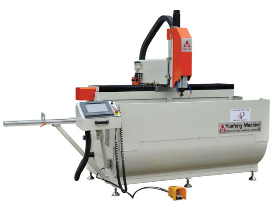 CNC Milling Drilling Machine for Aluminun and UPVC Window Lock Holes