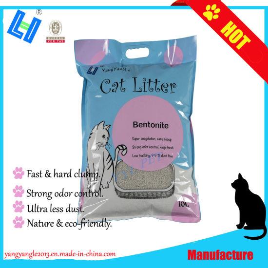 10L Bentonite Cat Litter with Fast Clump