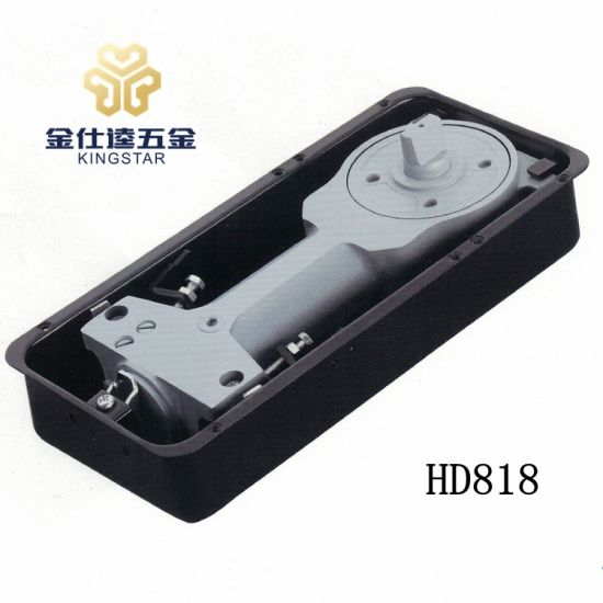 China Hd 818 Floor Hinge For Glass Door Spring Closer China Galss