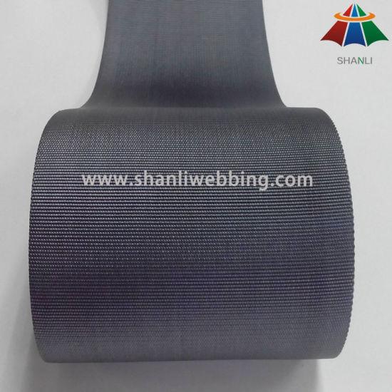 4 Inch (100mm) Grey Flat Nylon Webbing
