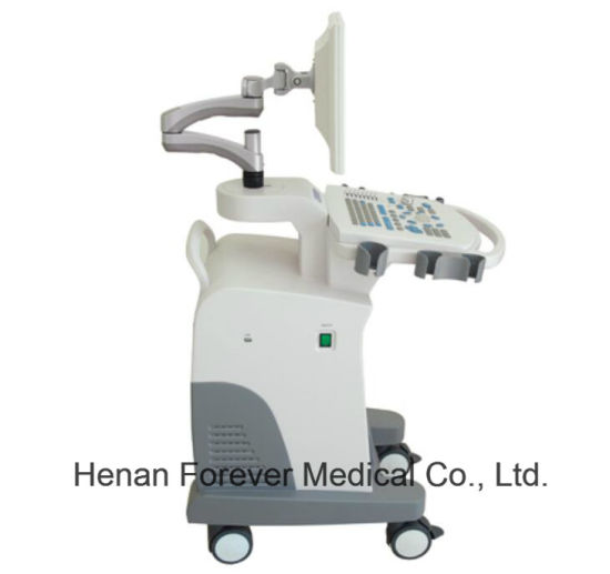 Hospital Equipment Full Digital Trolley Ultrasound Scanner pictures & photos