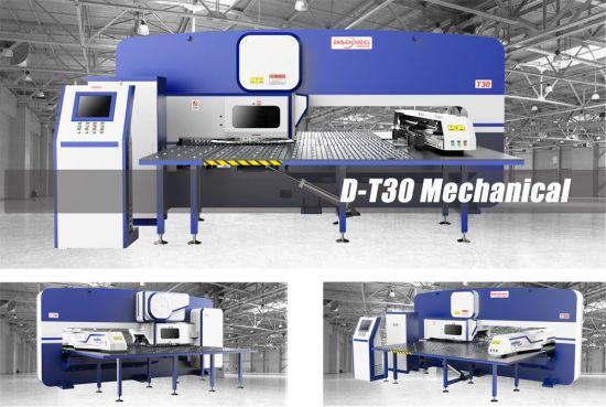 China Siemens/Fanuc Controller CNC Turret Punching Machine/Punch