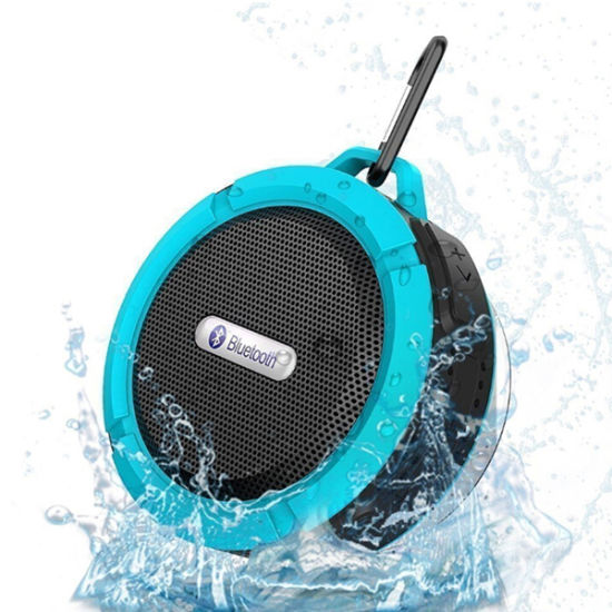 SHOWER BATH TUB SUCTION CUP SPEAKER BLUETOOTH Wireless rechargeable stereo audio