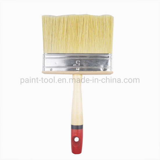 Wooden Handle Ceiling and Wall Paint Brushes for Painters