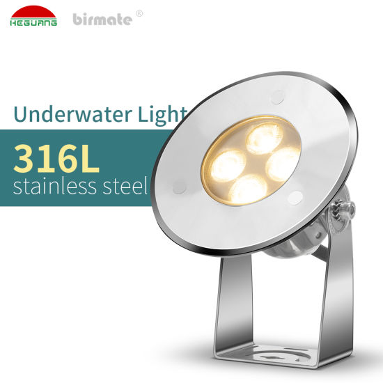 3W IP68 Structure Waterproof Adjustable Support Submersible LED Pond Light with ERP