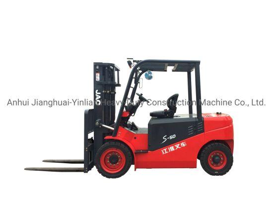 JAC 5 Ton Electric Forklift/Cpd50s/Forklift Trucks/Battery Forklift