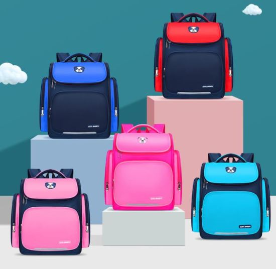 Space Schoolbag for Primary School Students Customized Training Tutorial Class Printed Logo Children Backpack